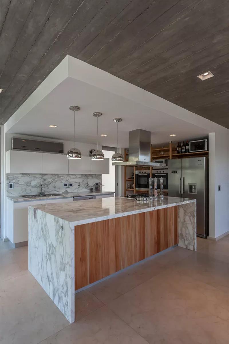 16 Cozinha Com Ilha Em Marmore Dikaza Interiores M Veis Sob Medida