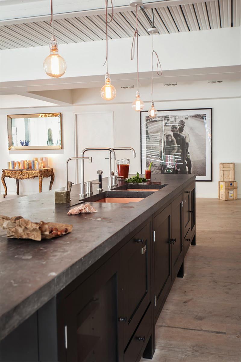 16 Ilha De Cozinha Com Pia De Concreto Dikaza Interiores M Veis